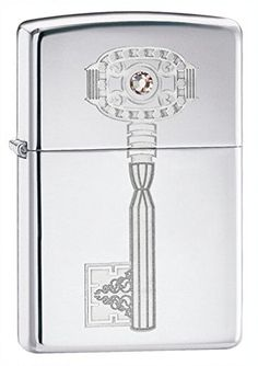 Zippo 4 High Polish Chrome Lighter Silver 5 12x3 12cm -- Visit the image link more details.(This is an Amazon affiliate link and I receive a commission for the sales)