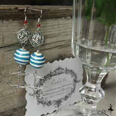 handmade earings by loliti * https://www.facebook.com/loliti.studio