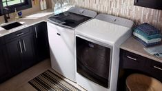 Maytag® top-load washer and dryer pair. Maytag Washing Machine, Washing Machine Reviews, Doing Laundry, Washer And Dryer, Washing Clothes, Home Appliances, Canning, Tape, Hero