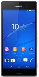 Sony Xperia Z3  Smartphone Android (5.2 Full HD 1920 x 1080 p Qualcomm Snapdragon 2.5 GHz cámara 20.7 Mp) negro