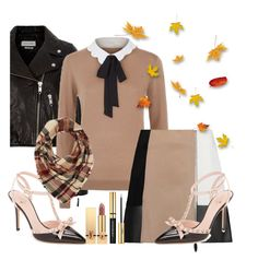 """""""Lou"""" by styleability on Polyvore featuring Étoile Isabel Marant, Claudie Pierlot, Alexander Wang, Kate Spade, Charlotte Russe and Yves Saint Laurent"""