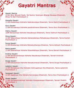 Gayatri_Mantras_b. Vedic Mantras, Hindu Mantras, Yoga Mantras, Hindu Rituals, Hata Yoga, Gayatri Mantra, Sanskrit Mantra, Mudras, Spiritus