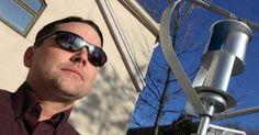 Καταδικάστηκε σε έξι μήνες φυλακή για την εγκατάσταση μιας ανεμογεννήτριας στο σπίτι του