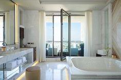 Waldorf Astoria Berlin boasts the best bathtub in the city | Daily ...