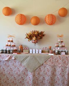 This is a darling Pumpkin Patch Birthday Party at On To Baby.com.  Excellent inspiration.