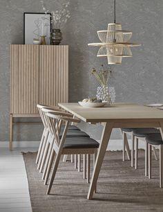 Yard Matgrupp med 6 stolar Sixten   Mio Dining Room, Dining Table, Interior Inspiration, Yard, Kitchen, Furniture, Home Decor, Patio, Cooking