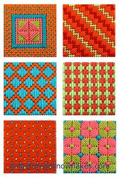 Patterns for sewing plastic canvas