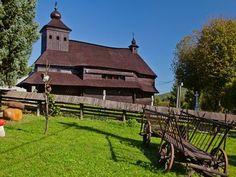 Uličské Krivé - Kostol sv. Michala Archanjela - Drevené kostoly - Slovakia.travel