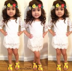 Cheap princess dress, Buy Quality lace princess dress directly from China kids girl Suppliers: 2017 Newborn Baby Kids Girls Long Sleeve Flower Party Tutu Lace Princess Dresses Wedding Dresses For Kids, Lace Party Dresses, Girls Party Dress, Baby Girl Dresses, Flower Dresses, Baby Dress, Baby Girls, Dress Party, Kids Girls