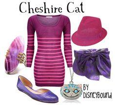 cheshire cat by disney bound