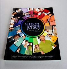 Creative catalogue design and production for leading work wear supplier Simon Jersey