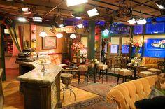 "Famous TV Set of ""Friends"" by Kim D. S., via Flickr...Central Perk"