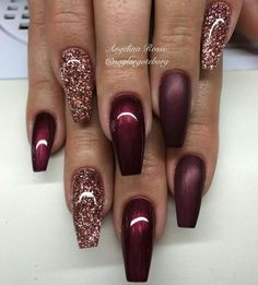 39 chic acrylic gel coffin nails design ideas acrylic nails nail beauty makeup Wondrous Winter Nail Design Ideas For 2020 – The Glossychic Design 63 Cute Nail Designs for Every Nail Length & Season: Cute Nails to Try 22 super easy nail art designs and … Fancy Nails, Love Nails, How To Do Nails, Fabulous Nails, Gorgeous Nails, Pretty Nails, Simple Nail Art Designs, Easy Nail Art, Nail Designs