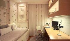 Decoradora dá dicas de como aumentar o espaço no seu quarto