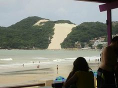 rio grande do norte natal Aran hotel   Aram Ponta Negra Hotel: Vista do Morro do Careca.