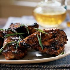 Jerk Chicken  Bring the Caribbean's heat and spice to your dinner table by basting the chicken with jerk sauce, beer, ketchup, and hot sauce. You only use a small portion of the beer in the sauce, so enjoy the rest with dinner.