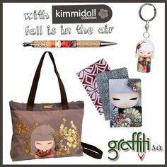 Στυλό, μπρελόκ , τσάντα γυναικεία χεριού/ώμου και σημειωματάρια Kimmidoll από τη Graffiti! #kimidoll #graffiti #graffitisa #notes #pen #bag #key  www.graffiti.gr