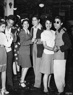 Like other youth in Los Angeles, Filipino Americans often participated in Hollywood nightlife in the 1940s and 1950s, visiting clubs and dance halls. (Courtesy of Tawa Desuacido) Mae Respicio Koerner's Filipinos in Los Angeles offers a remarkable glimpse of a century of Filipinos in Los Angeles.