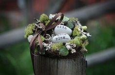 Woodland fairy tale come true enchanted ring bearers by dearjes, $36.00