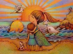 Tener un sobrino es un regalo casi divino, pues a partir de su nacimiento se crea una preciosa y maravillosa historia de amor incomparable.