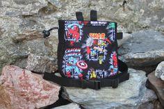 Climbing Chalk Bag, Rock Climbing, Marvel, Unique Jewelry, Comic Book, Handmade Gifts, Bags, Superhero, Etsy