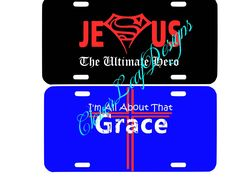Christian License Tags