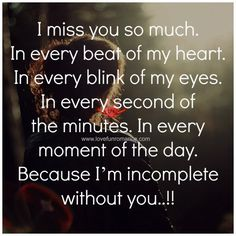 397 Best Sayings Images I Miss U Love Crush Quotes Miss You