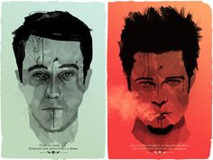 Fight Club - I found this and thought it was pretty cool.