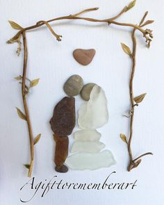 """Our wedding day"" #agifttorememberart #pebbleart #marriage #wedding #weddinggift #seaglass #romance #etsy #etsyseller #makersgonnamake #happiness #beach #roomdecor #frame #instaart #instaphoto #instagood #bride #groom #love #madebyme #art #handmadeart #unique #inlove #australia #shipworldwide"
