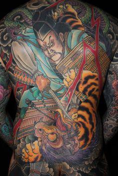 Tattoos Done By Chris Nunez Chris odonnell Full Back Tattoos, Full Body Tattoo, Great Tattoos, Tattoos For Guys, Yakuza Tattoo, Sak Yant Tattoo, Japanese Tiger Tattoo, Japanese Tattoos For Men, Bodysuit Tattoos