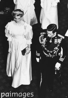 November 6, 1984: Princess Diana at the State Opening of Parliament, Westminster.