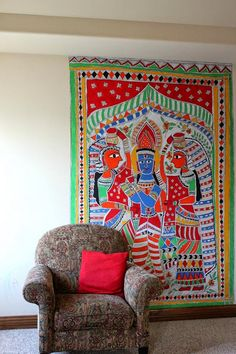 Aalayam - Colors, Cuisines and Cultures Inspired!: Dvara -a fusion Indian coffee table magazine and an Antique Indian Home tour! Indian Coffee Table, Antique Coffee Tables, Madhubani Art, Madhubani Painting, Home Decor Bedroom, Living Room Decor, Coffee Table Magazine, Indian Folk Art, Indian Artwork