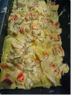 Πεντανόστιμα λαζάνια με κοτόπουλο! | Toftiaxa.gr - Φτιάξτο μόνος σου - Κατασκευές DIY - Do it yourself