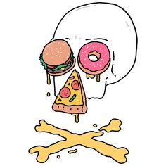 Fast Food Skull