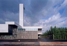 Estadio de Football de Lasesarre by NOMAD Arquitectos0(Barakaldo, Bizkaia, Spain) #architecture