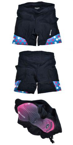 Triathlon 2918: Sugoi Womens Rpm Tri Short Medium Triathlon Cycling Shorts Road -> BUY IT NOW ONLY: $45.63 on eBay!
