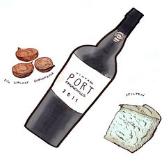 Classic pairings with vintage Port #Portwine #foodandwine #cheese