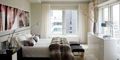Ivanka Trump's Apartment by Eric Piasecki for Elle Decor Diy Home Decor Rustic, Diy Home Decor Bedroom, Cozy Bedroom, Living Room Decor, Bedroom Ideas, Bedroom Designs, Modern Bedroom, White Bedroom, Bedroom Inspiration