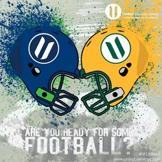 Are you ready for some FOOTBALL?  The United team is pumped that the NFL Season kicks off tonight!  Like if you are glad FOOTBALL is back!  Also, let us know who you think is going to win the game tonight, Seattle or Green Bay?  #NFL #NFLKickoff #Seattle #Seahawks #GreenBay #Packers #football