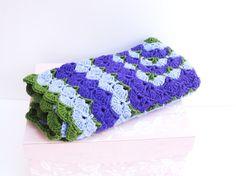 Crochet Baby Blanket Shell Baby Blanket by SuninVIRGOCreations
