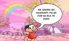 Perfil no Twitter que satirizava tirinhas da Mônica sai do ar. http://glo.bo/1yRn2cr