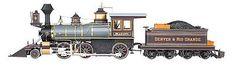 Locomotives 122576: Bachmann 81488 G Denver And Rio Grande Western Spectrum 2-6-0 -> BUY IT NOW ONLY: $774.99 on eBay!