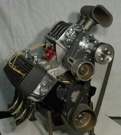One of Mickey Thompson's 4 cylinder Motors
