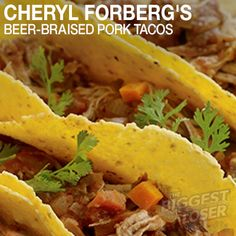 Need a quick weekday recipe? Click here for Cheryl Forberg's healthy taco recipe.