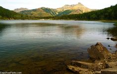 Crandell Lake Trail in Waterton Lakes National Park. Includes the Top Things To Do In Waterton Lakes National Park. Waterton Park, Waterton Lakes National Park, National Parks, Stuff To Do, Things To Do, Trail, Hiking, Mountains, Rock