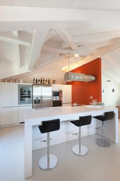 Interior of a modern Italian home