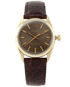 Rolex Men's 'Oyster Perpetual' Watch on Strap