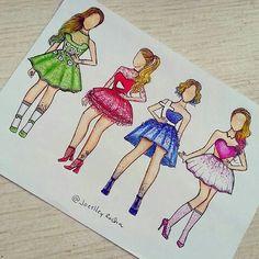 Dibujos chicas
