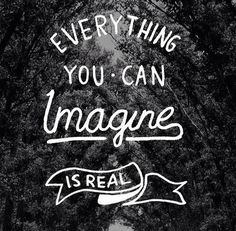 Everything you can imagine is real word art print poster black white motivational quote inspirational words of wisdom motivationmonday Scandinavian fashionista fitness inspiration motivation typography home decor Inspirational Words Of Wisdom, Inspirational Posters, Motivational Words, Typography Quotes, Typography Prints, Typography Poster, Hand Lettering, Print Poster, Art Print