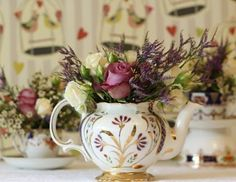 Mad Hatter Tea Party – Friday: A Day of Wedding Inspiration By The Beginning of Forever -- see more at LuxeFinds.com